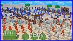 Civil War Playset #3 The Late War 54mm Plastic Toy Soldiers