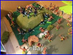 Custers last stand home made Playset with MARX WOW Figures