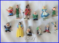 Disney See & Play Castle with 47 Disneykins & Accessories by Marx Vintage 1960s