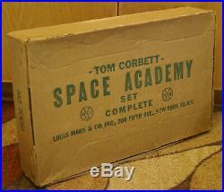 Early MARX Tom Corbett Space Academy PlaySet Nice Shape