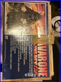 Famous World War II Battle of Navarone Giant Playset Incomplete