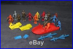 Fireball XL5 Gerry Anderson 1964 Multiple Products MPC Play Set Lot Marx