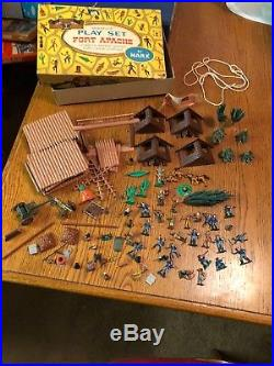 Fort Apache miniature play set Vintage by Marx Toys