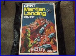 Giant Martian Landing Play Set Marx Toys Vintage RARE