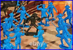 Grand Zorro Playset 54mm Plastic Toy Soldiers