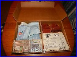 HIGH GRADE Marx Fort Apache Playset # 3681 Bags, Dividers, Instructions, Box Ex. Cd