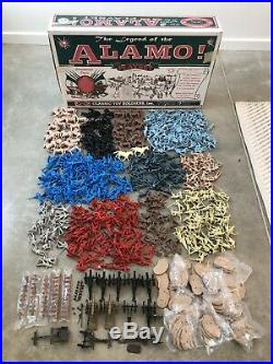 HUGE! CTS Classic Toy Soldiers The Legend of the Alamo Playset Boxed Marx 1996