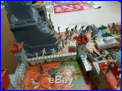 HUGE NAVARONE BATTLEGROUND U. S/GERMAN DUAL PLAYSET CUSTOM BOX With MARX TOYS! II