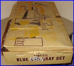 Huge Marx 1950s-60s Blue Gray Civil War Playset