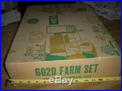 Ideal Vintage Sears Allstate Playset Marx Farm Playset Tin Litho Barn #6020