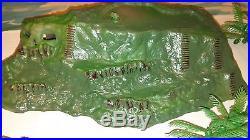 Iwo Jima miniature Play set Marx 1960 250 piece Vintage Soldier Toy Collectible