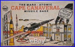 L#6 Vintage MIB Sealed Marx Atomic Cape Canaveral Missile Base Play Set 4521