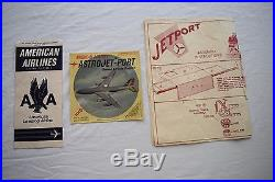 Louis Marx American Airlines Astrojet Airport Play Set
