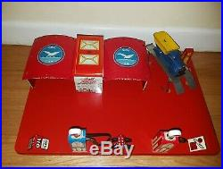 MARX 1940 TIN litho PRESSED STEEL Gull Electric Service Station playset rare
