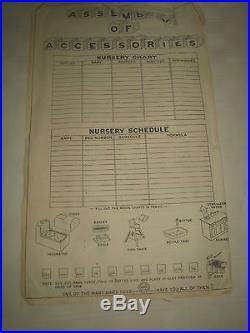 MARX 1950's Babyland Nursery MIB
