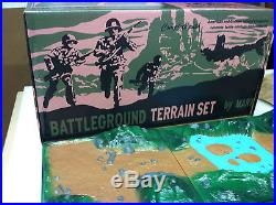 Marx 1966 Battleground Terrain Playset