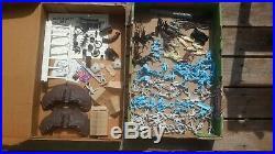 MARX 1972 CIVIL WAR Blue & Gray HERITAGE Playset BOX with playset figures