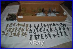 MARX 4174 DESERT PATROL PLAY SET in ORIGINAL BOX LOOK