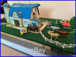 MARX #5944 Dairy Farm Playset 1960 Version, Used