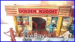 Marx Alaska Playset Vintage Arctic Eskimo Golden Nugget Rarest Marx Building
