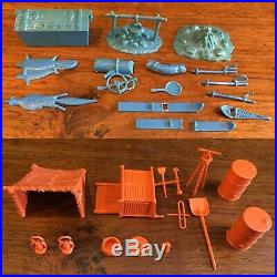 MARX ARCTIC EXPLORER PLAYSET Building Figures & Parts Lot #3702 IGY Alaska