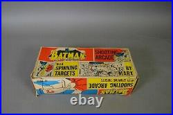 MARX BATMAN SHOOTING ARCADE in Original Box
