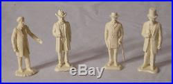 MARX BATTLE OF THE BLUE AND THE GRAY CIVIL WAR PLAYSET WITH FIGURES BOXED SHARP