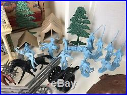 MARX BATTLE OF THE BLUE & GRAY PLAY SET No. 4658 99.9% VERY GOOD in BOX RARE