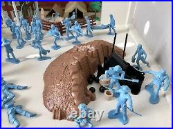 MARX BATTLE OF THE BLUE & GRAY PLAY SET No. 4658 99% VG WithBOX MUST SEE SET