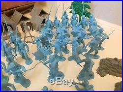 MARX BATTLE OF THE BLUE & GRAY PLAY SET No. 4760 SERIES 2000 1959 95%