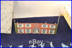 MARX BATTLE of the BLUE & GRAY No. 4745 with Orig. Box, Soldiers Cannons 1959