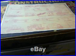 Marx Big Inch Pipeline, Construction Camp Playsets. With Extras And Boxes
