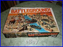 MARX Battleground 4204 playset 100% complete