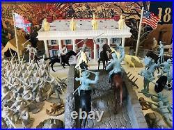MARX CENTENNIAL BATTLE OF THE BLUE & GRAY PLAY SET No. 5929 97% VG in BOX