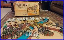 Marx Desert Fox Playset With Extras