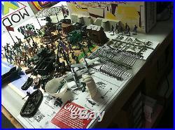 MARX EUROPEAN BATTLEGROUND PLAYSET (sears) 4143 WITH BOX repo