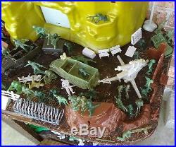 MARX Famous World War II Battle of Iwo Jima Giant Playset VINTAGE