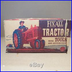 MARX Fix All Tractor with box, 1950's