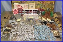 MARX GIANT BLUE & GRAY Play Set 1961