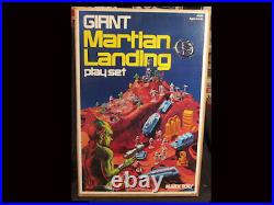 MARX GIANT MARTIAN LANDING Play Set 1977 Complete New In Box