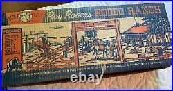 MARX HAPPI TIME ROY ROGERS RODEO RANCH PLAYSET WithBOX