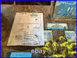 MARX I G Y ARCTIC SATELLITE BASE PLAYSET Series 1000 # 4800 WITH BOX