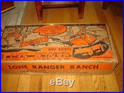 Marx Lone Ranger Ranch 3969 Playset Nmib Series 500