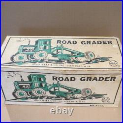MARX Lumar Pressed Steel Road Grader, 1960's, MIB