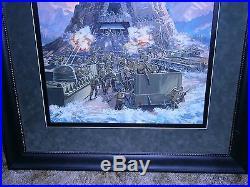 MARX/MEGO Original oil painting GUNS of NAVARONE Playset by Uldis Klavins