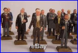MARX Miniature Presidents Set of 28 Vintage 1960's