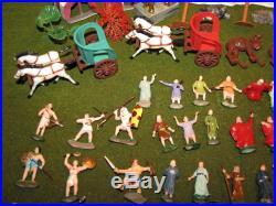 MARX Miniature Ten Commandments Montgomery Wards Playset Figures & Acc WithBox