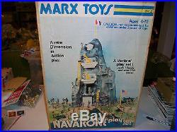 Marx Navarone Playset In Box