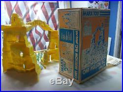 MARX ONE MILLION B. C. PLAYSET With BOX ORIGINAL
