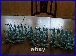 MARX Orig. Centennial Blue&Gray 5929 Playset Excellent